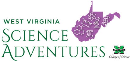 West Virginia Science Adventures Logo